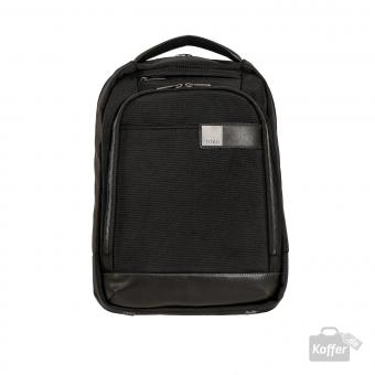 "Titan Power Pack Backpack slim mit Laptopfach 15.6"" black"