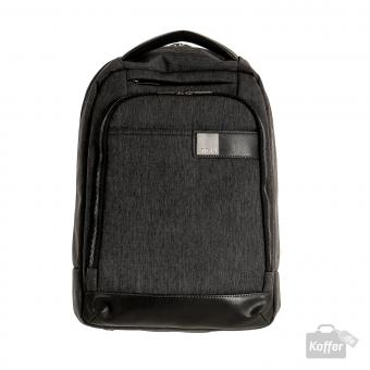 "Titan Power Pack Backpack slim mit Laptopfach 15.6"" mixed grey"