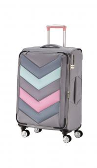Titan Spotlight Soft Trolley M erweiterbar grey/sorbet