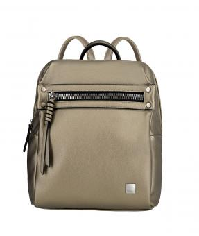 Titan Spotlight Zip *Follow your Dreams* Rucksack Metallic Gold