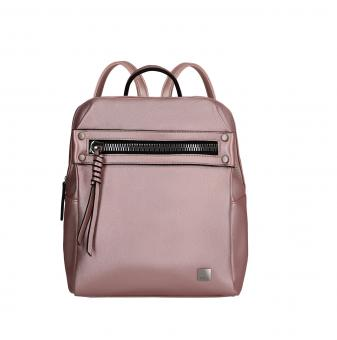 Titan Spotlight Zip *Follow your Dreams* Rucksack Metallic Pink