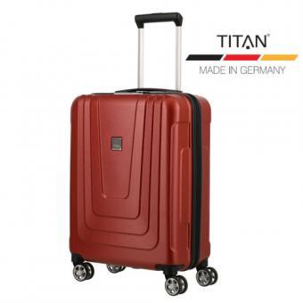 Titan X-Ray Atomic Trolley S 4R 55cm Red