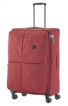 Titan Square Trolley L 78cm 4 Rollen exp. Red