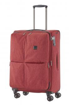 Titan Square Trolley M 68cm 4 Rollen exp. Red