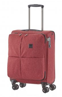 Titan Square Trolley S 55cm 4 Rollen Red