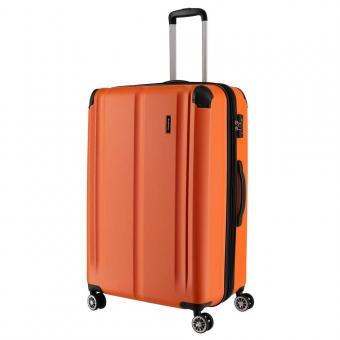 Travelite City Trolley L 4R 77cm erweiterbar Orange