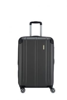 Travelite City Trolley M 4R 68cm erweiterbar anthrazit