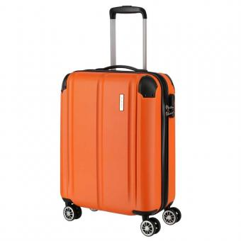 Travelite City Trolley S 4R 55cm Orange