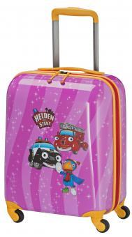 Travelite Helden der Stadt Trolley S 4R 47cm pink