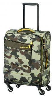 Travelite Kite 2017 Trolley S 4w 54 cm Camouflage