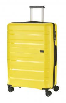 Travelite Kosmos Trolley L 4R 77cm gelb