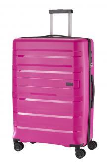 Travelite Kosmos Trolley L 4R 77cm pink