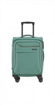 Travelite Solaris Trolley S 4w 54 cm aqua-orange