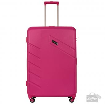 Travelite Tourer Trolley L 4w 76 cm Pink