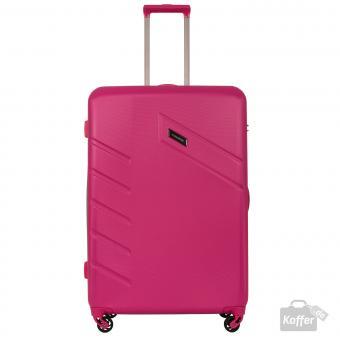 Travelite Tourer Trolley L 4w 76 cm Pink