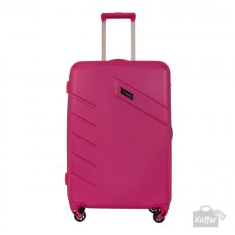 Travelite Tourer Trolley M 4w 68 cm, erweiterbar Pink