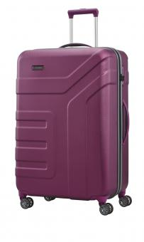 Travelite Vector 4w Trolley L Pflaume