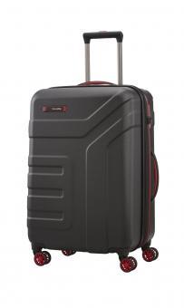 Travelite Vector 4w Trolley M erw. Schwarz *Limited Edition*