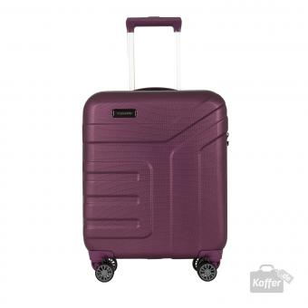 Travelite Vector 4w Trolley S Pflaume