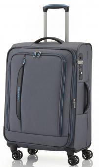 Travelite Crosslite Trolley M 4w erweiterbar Anthrazit