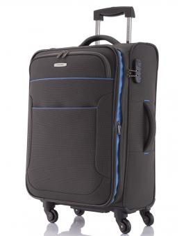 Travelite Derby Trolley M 4W erweiterbar Anthrazit