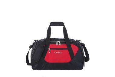 Travelite Kick Off Freizeittasche S rot-schwarz