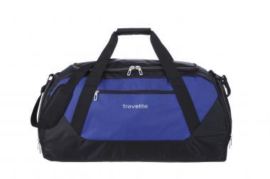 Travelite Kick Off Freizeittasche XL blau-schwarz