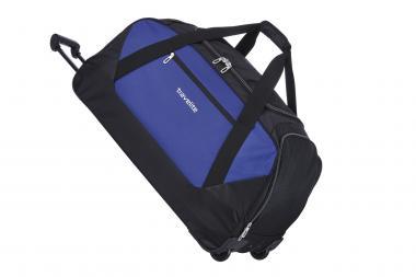 Travelite Kick Off Trolley Freizeittasche XL 2 Rollen blau-schwarz