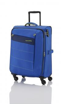 Travelite Kite Trolley M 4W exp. Royal Blau