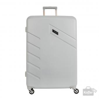 Travelite Tourer Trolley L 4w 76 cm Silber