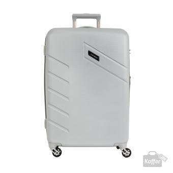 Travelite Tourer Trolley M 4w 68 cm, erweiterbar Silber