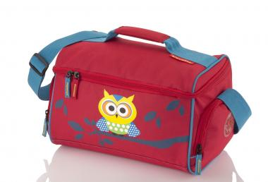 Travelite Youngster Reisetasche Eule - Rot