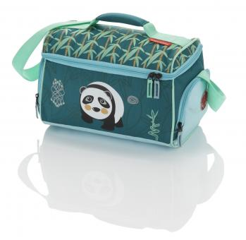 Travelite Youngster Reisetasche Panda - Petrol