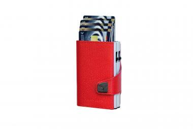 Tru Virtu Click & Slide Doublewallet Rhombus Coral/Red