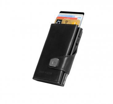 Tru Virtu Click & Slide Wallet Nappa Black/Black