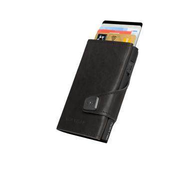 Tru Virtu Click & Slide Wallet *Premium Edition* Dakota Black