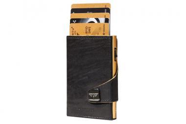 Tru Virtu Click & Slide Wallet *Special Edition* Caramba Black-Yellow/Gold
