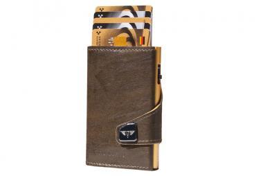 Tru Virtu Click & Slide Wallet *Special Edition* Caramba Mossgreen-Yellow/Gold