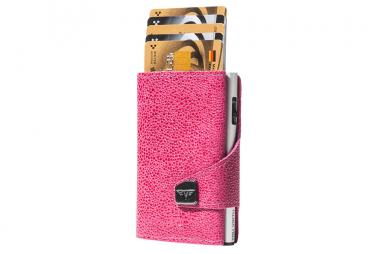 Tru Virtu Click & Slide Wallet *Special Edition* Sting Ray Fuchsia/Silver
