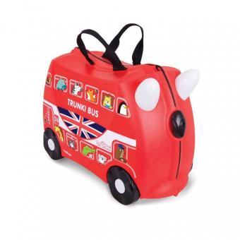 Trunki Ride-On Boris der Bus Kinderkoffer