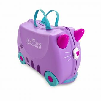 Trunki Ride-On Cassie Candy Cat Kinderkoffer