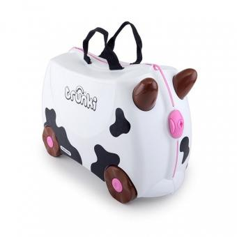 Trunki Ride-On Frieda die Kuh Kinderkoffer