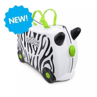 Trunki Ride-On Zimba das Zebra Kinderkoffer