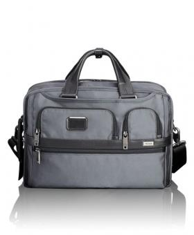 Tumi Alpha 2 3-In-1 Aktentasche Pewter