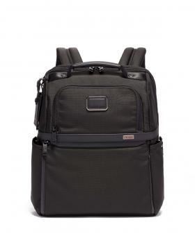 Tumi Alpha 3 Brief Pack Rucksack aus Ballistic Nylon, schmal black