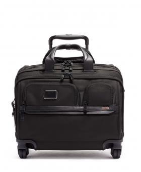 Tumi Alpha 3 DLX Laptop-Briefcase 4w aus Ballistic Nylon black