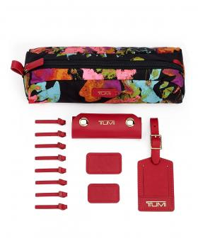 Tumi Personalisierungskit Accents Collage Floral