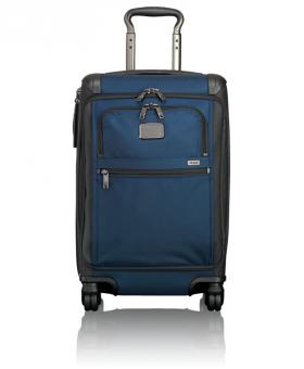 Tumi Alpha 2 Internationales Handgepäck mit Frontdeckel Navy Black