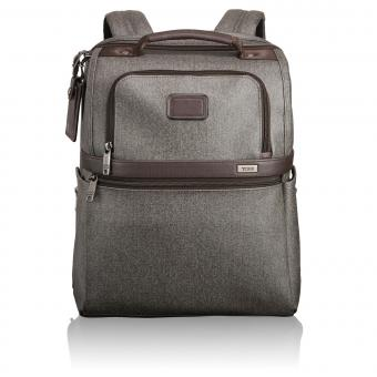 Tumi Alpha 2 Slim Solutions Brief Pack® Earl Grey
