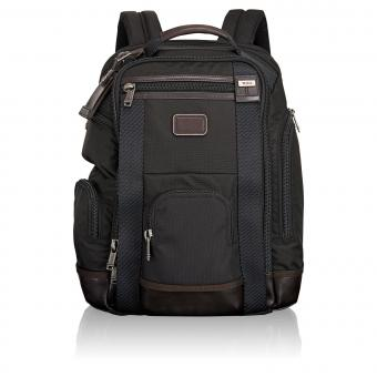 Tumi Alpha Bravo Shaw Deluxe Rucksack Hickory